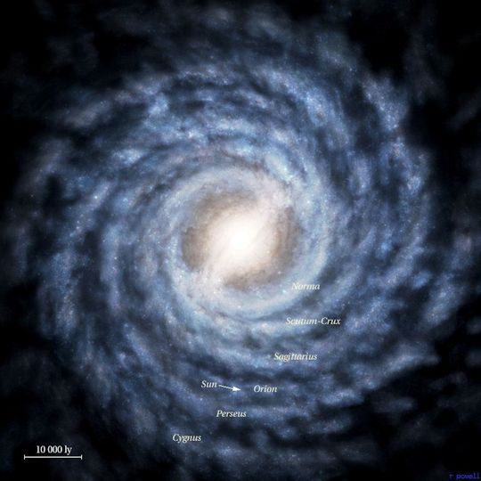 There is a small galaxy nearby to ours named Snickers. It contains about 200 million stars. True story.
