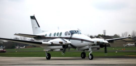 A small twin turboprop.