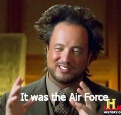 Unless it was aliens.