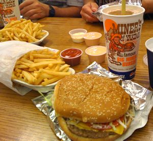 The Big Miner - best burger ever period.