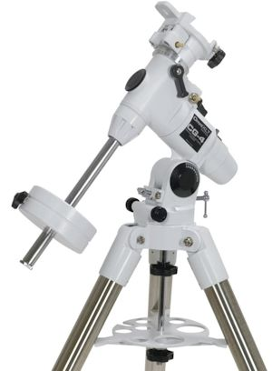 Celestron Omni CG4 Equatorial Mount and Tripod. Comes with two counterweights - 7 lb and 4 lb.
